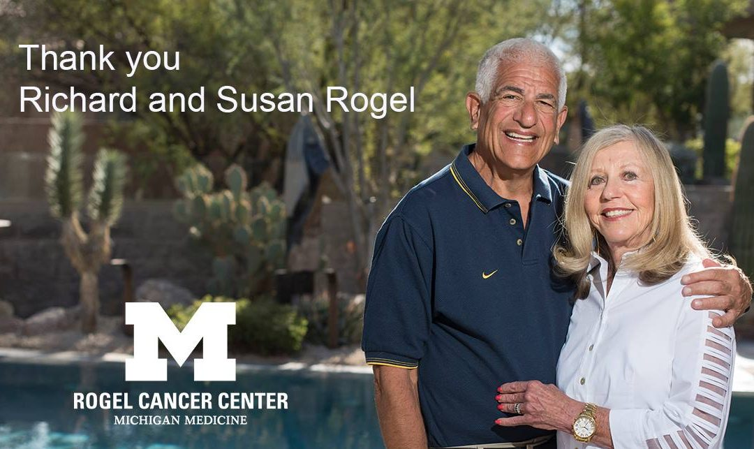 With $150M gift, Rogels will help UM Cancer Center transform cancer research and care