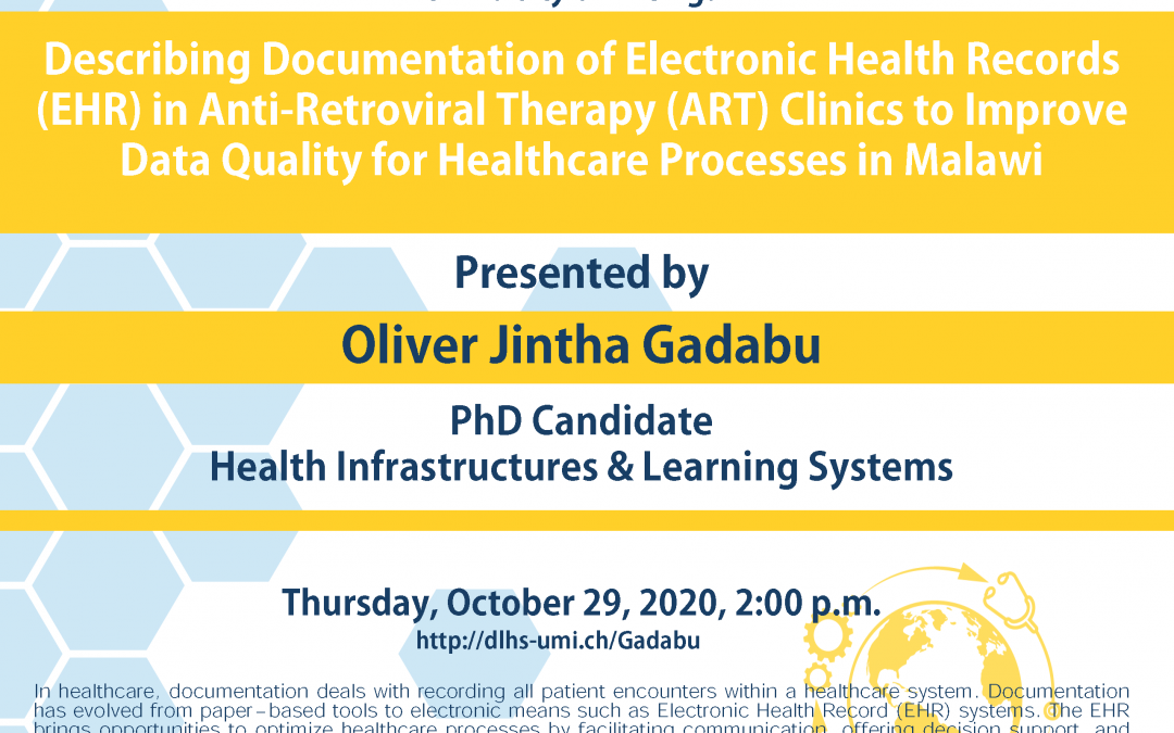 Describing Documentation of Electronic Health Records (EHR) in Anti-Retroviral Therapy (ART) Clinics to Improve Data Quality for Healthcare Processes in Malawi